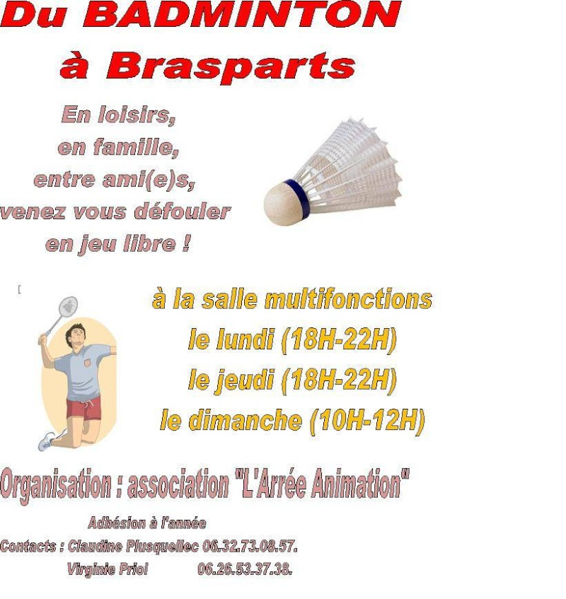 Badminton à Brasparts Badmin11
