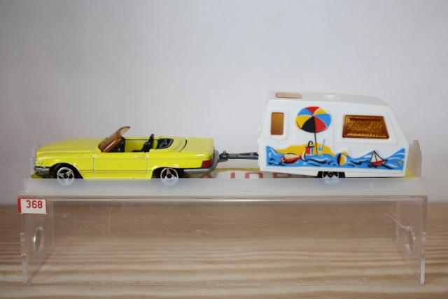 N°368 Mercedes 350 SL + Caravane Saint Tropez Nc368_12