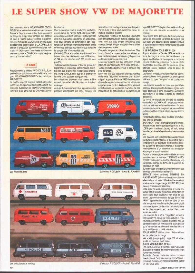 N°226 Volkswagen Fourgon Tolé Volksw10