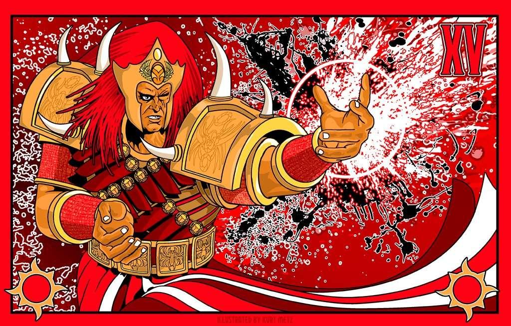 "[W40K] L'empereur et les primarques selon ""lord-solar(kurt-metz)"" 0dd7f710"