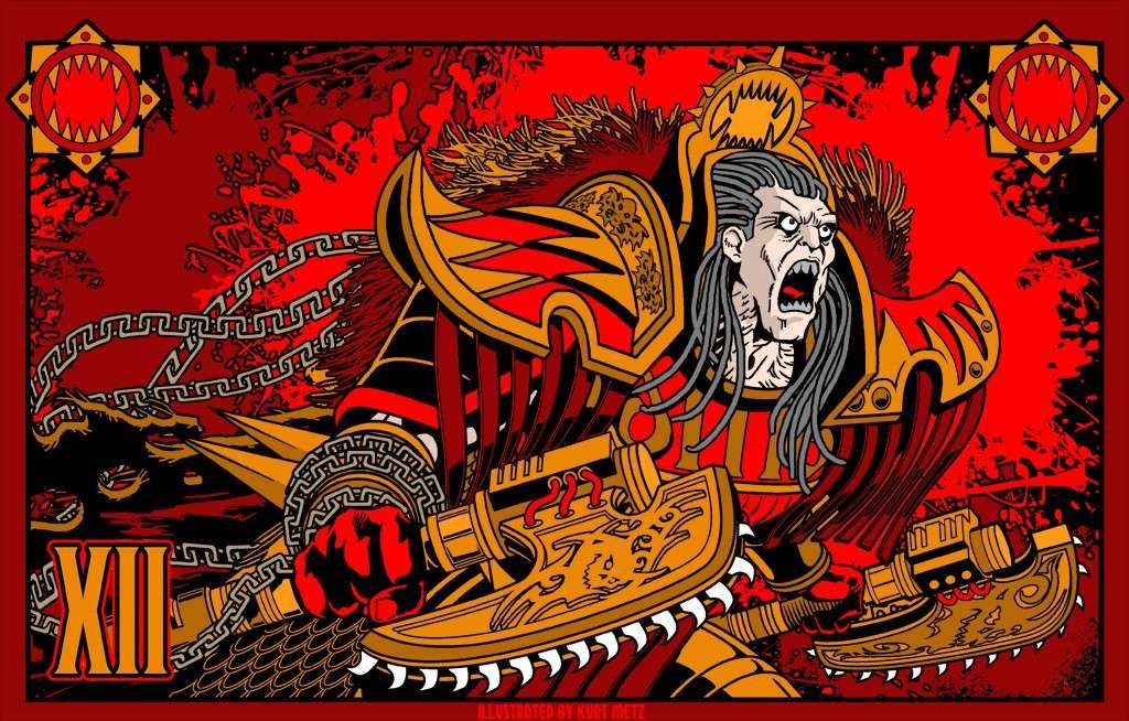 "[W40K] L'empereur et les primarques selon ""lord-solar(kurt-metz)"" 3738f810"