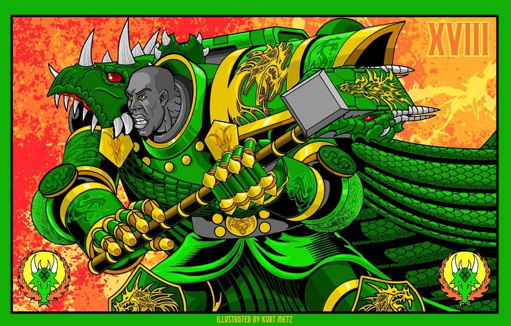 "[W40K] L'empereur et les primarques selon ""lord-solar(kurt-metz)"" 4bc4a510"