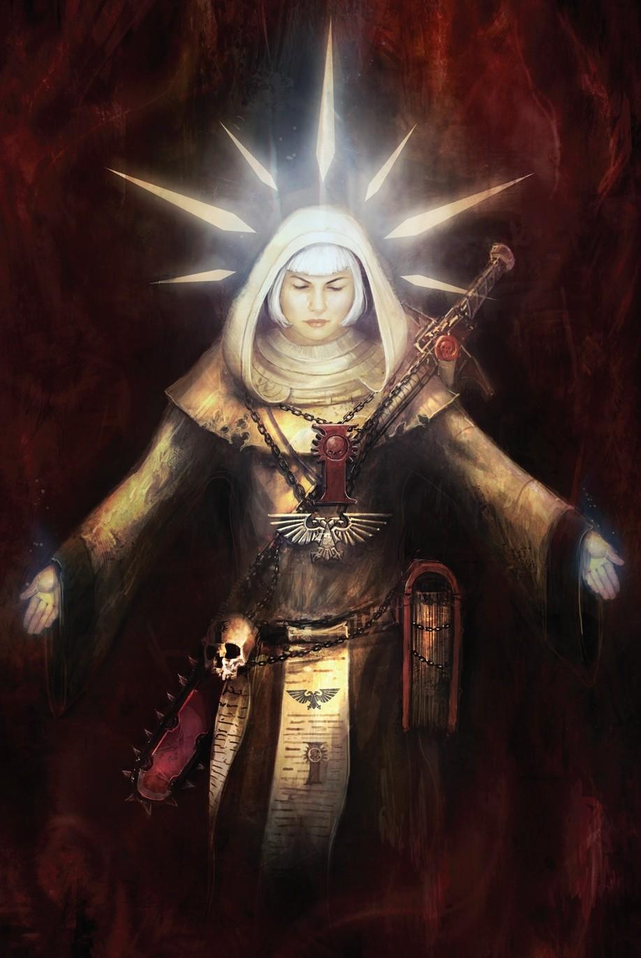 [W40K] Collection d'images : Inquisition/Chevaliers Gris/Sœurs de Bataille - Page 6 B714f910