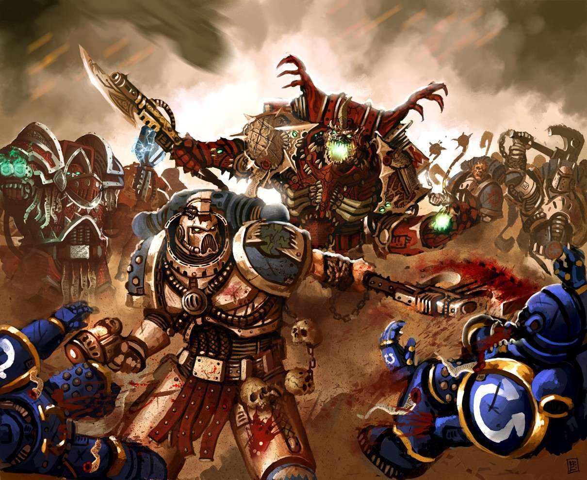 [W40K] Collection d'images : Space Marines du Chaos - Page 4 Bc967b10