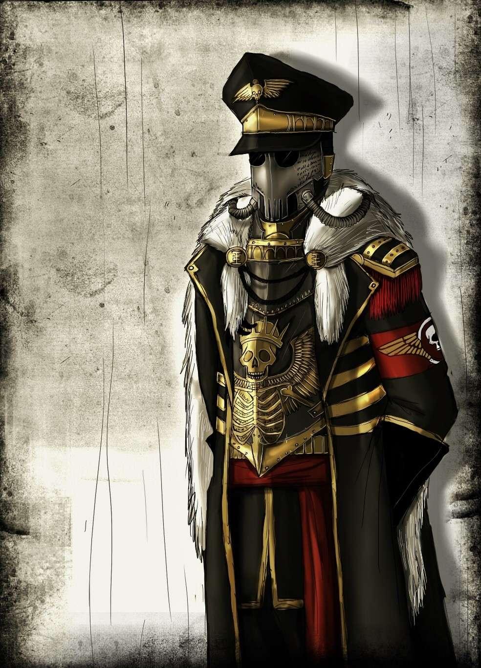 [W40K] Collection d'images : La Garde Impériale - Page 3 Commis10