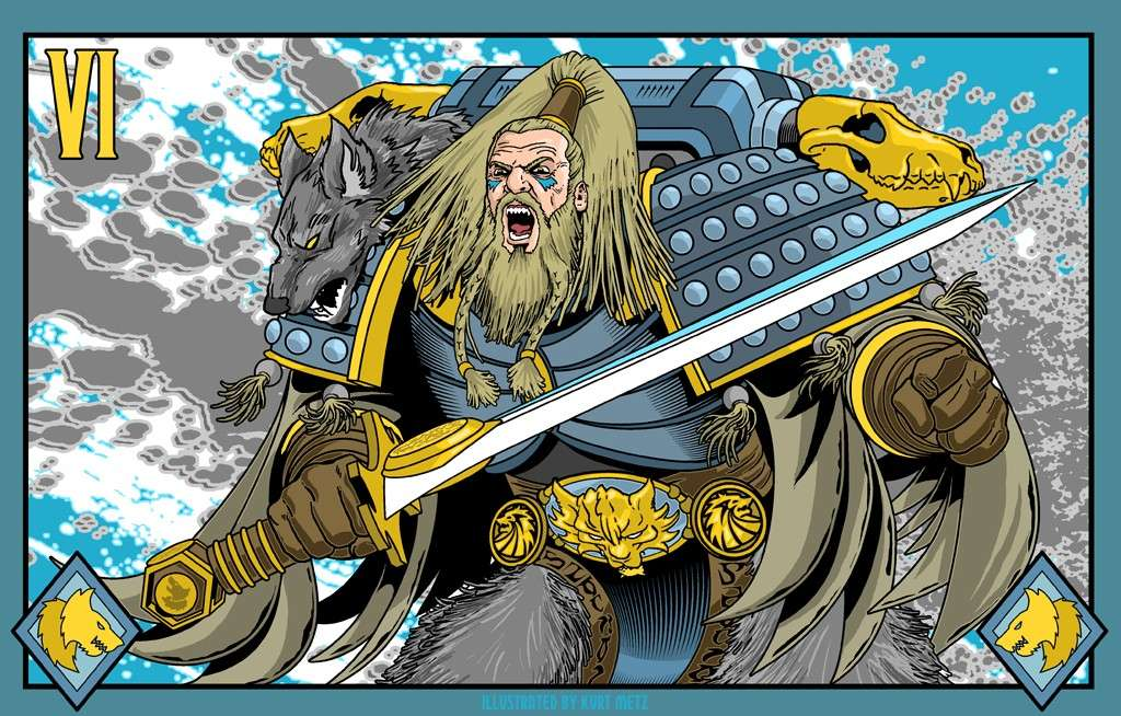 "[W40K] L'empereur et les primarques selon ""lord-solar(kurt-metz)"" D8abb610"