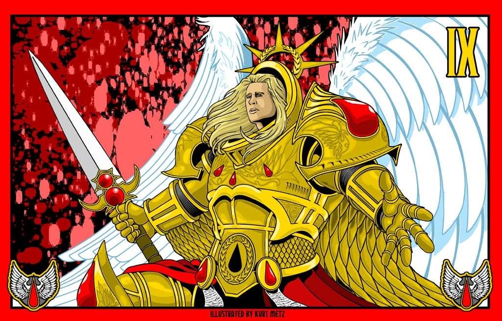 "[W40K] L'empereur et les primarques selon ""lord-solar(kurt-metz)"" Dcd22010"