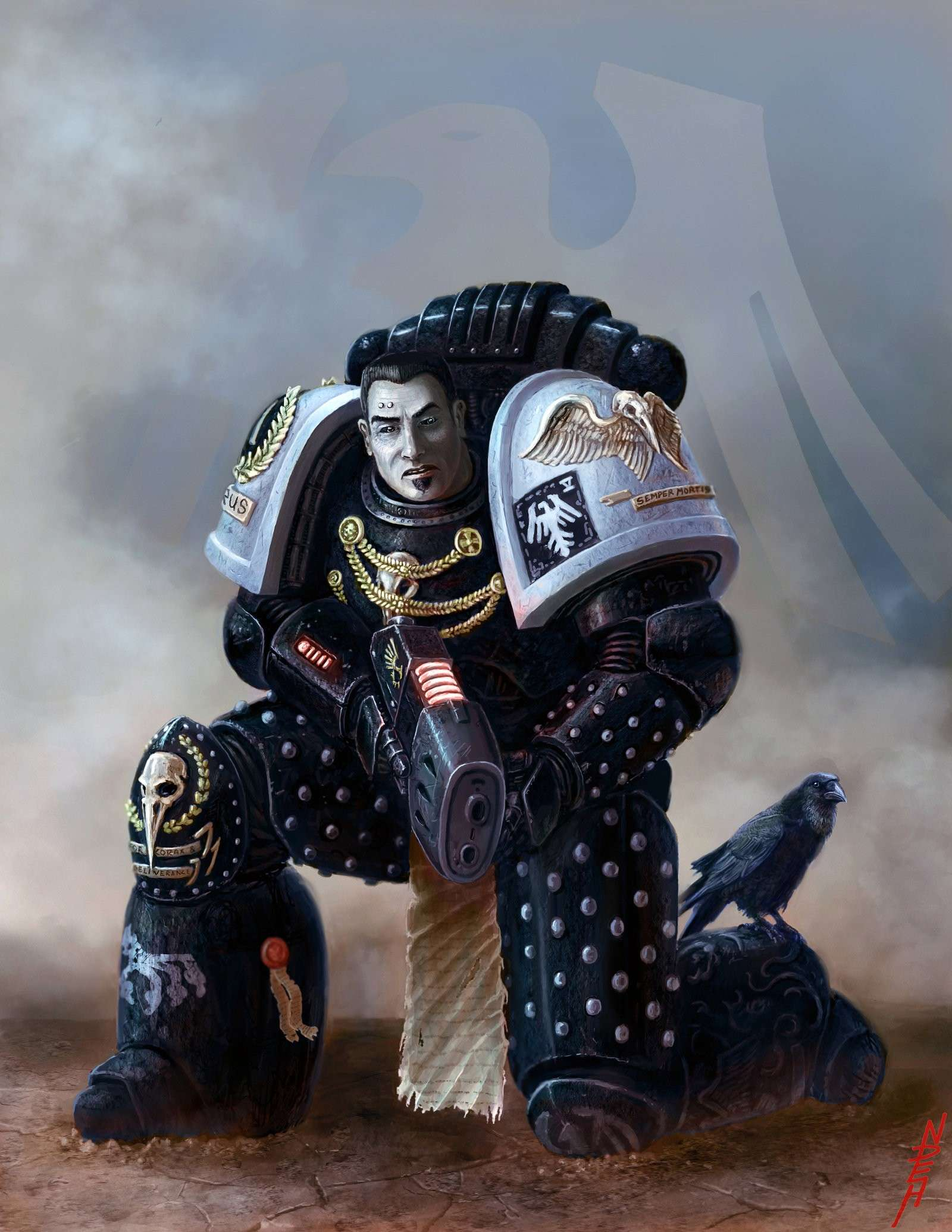 [W40K] Collection d'images : Space Marines - Page 6 Raven_10