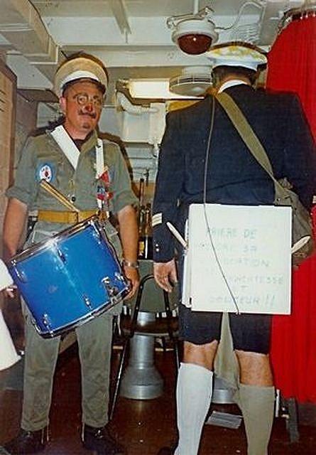 [ Les traditions dans la Marine ] LE PASSAGE DE LA LIGNE - ÉQUATEUR (Sujet unique) 1227