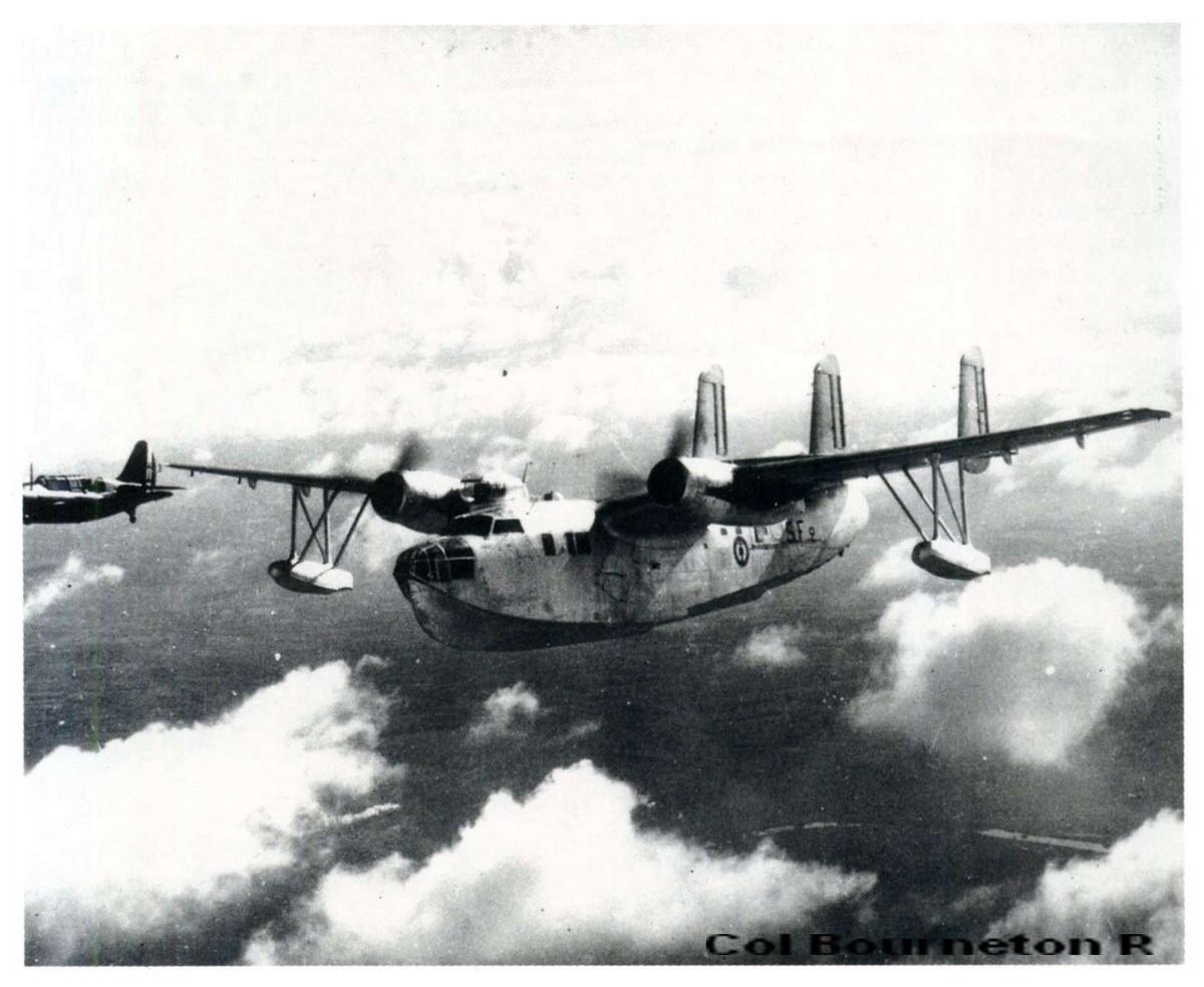 """[Les anciens avions de l'aéro] AMPHIBIE SNCAN NORD 1402 """"Noroit"""" 232"""
