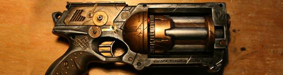 Customisation Nerf Maverick Steampunk Banier10