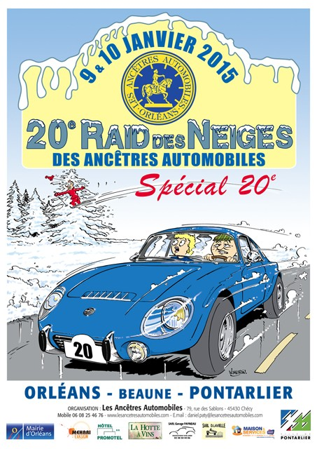 20e Raid des Neiges 9&10 Janvier 2015 2015af12