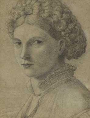 Tentative de retrouver un tableau d'après un portrait de femme renaissance Andrea10