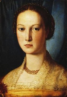 Tentative de retrouver un tableau d'après un portrait de femme renaissance Angnol10
