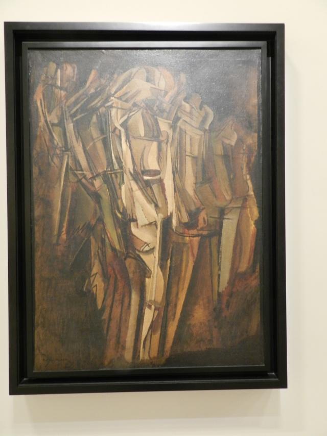 Marcel Duchamp, La peinture, même (expo centre pompidou -> janvier 2015) Beaub111