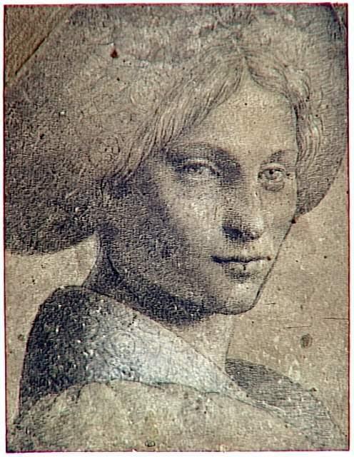 Tentative de retrouver un tableau d'après un dessin de femme au turban Bernar10