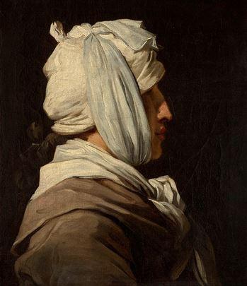 Tentative de retrouver un tableau d'après un dessin de femme au turban Franao11