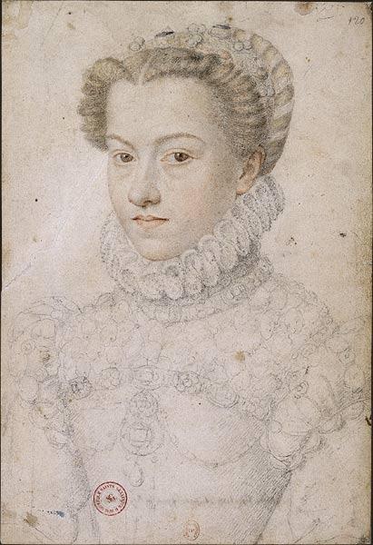 Tentative de retrouver un tableau d'après un portrait de femme renaissance Franao12