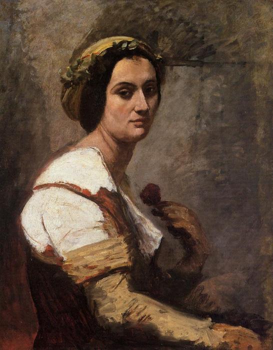 Tentative de retrouver un tableau d'après un dessin de femme au turban Jean-b10