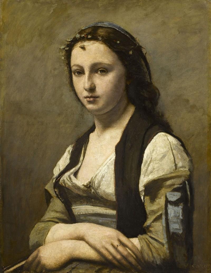 Tentative de retrouver un tableau d'après un portrait de femme renaissance La-fem10