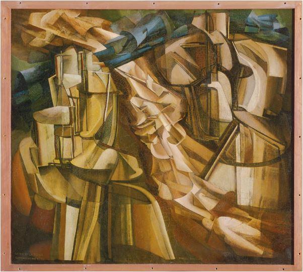 Marcel Duchamp, La peinture, même (expo centre pompidou -> janvier 2015) Le_roi10