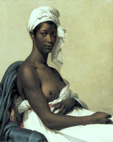 Tentative de retrouver un tableau d'après un dessin de femme au turban Marie-11
