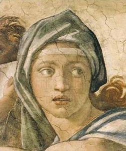 Tentative de retrouver un tableau d'après un dessin de femme au turban Michel10