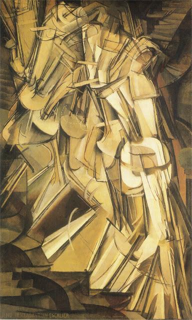 Marcel Duchamp, La peinture, même (expo centre pompidou -> janvier 2015) Nu_des10