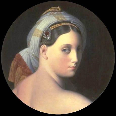 Tentative de retrouver un tableau d'après un dessin de femme au turban Odalis10