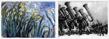 Juxtapositions oulipiennes d'images - Poésie des contrastes Paix_e10