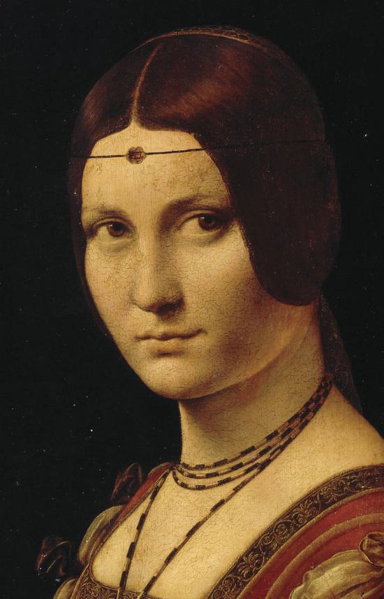 Tentative de retrouver un tableau d'après un portrait de femme renaissance Portra10