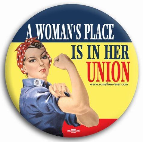 D'une affiche de propagande au féminisme, Rosie, We can do it Rosie_10