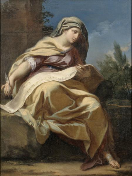 Tentative de retrouver un tableau d'après un dessin de femme au turban Sibyll11