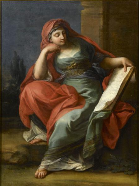 Tentative de retrouver un tableau d'après un dessin de femme au turban Sibyll12
