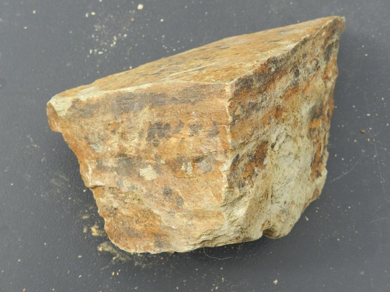 Pierres ramassées lors d'une excavation de la LGV en Mayenne Vauvyr43