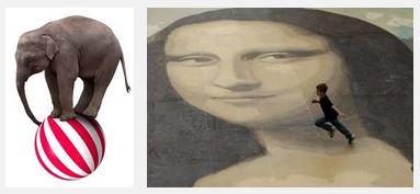 Juxtapositions oulipiennes d'images - Poésie des contrastes Yquili10