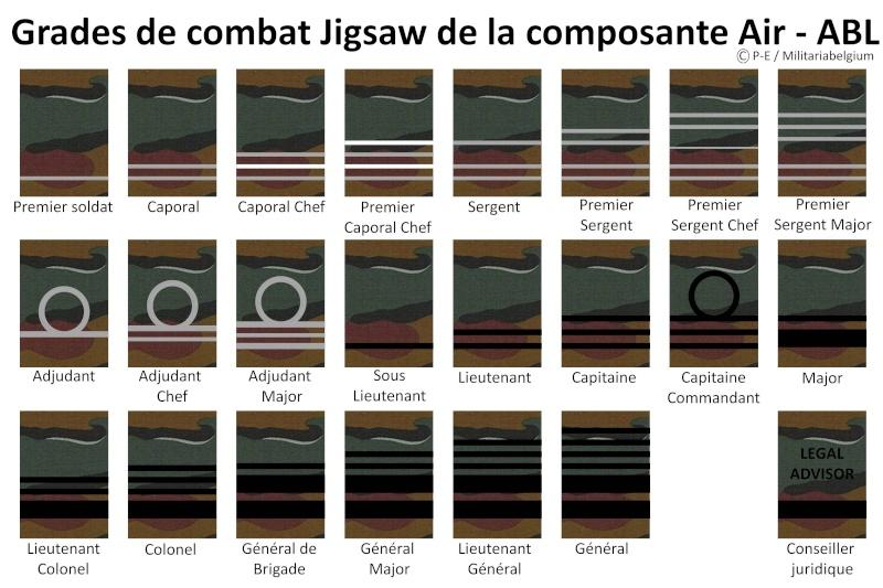 Belgium army ranks Diapos10