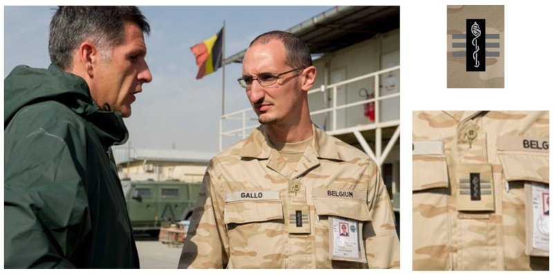 Belgium army ranks Diapos19