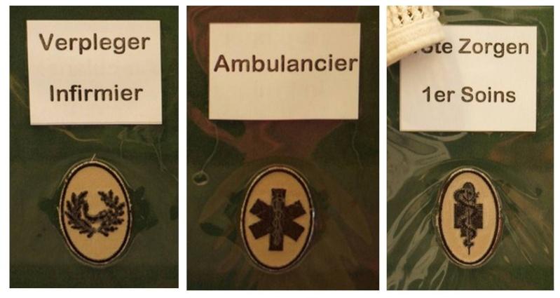Belgium army qualification badges Diapos20