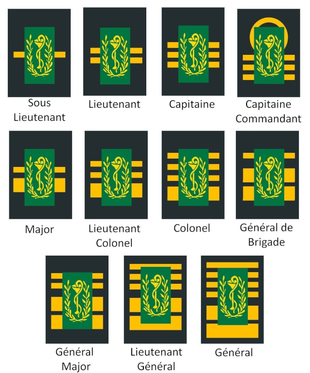 Belgium army ranks Diapos28