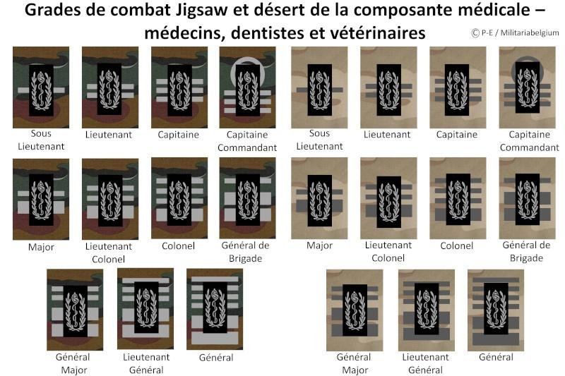 Belgium army ranks Diapos33