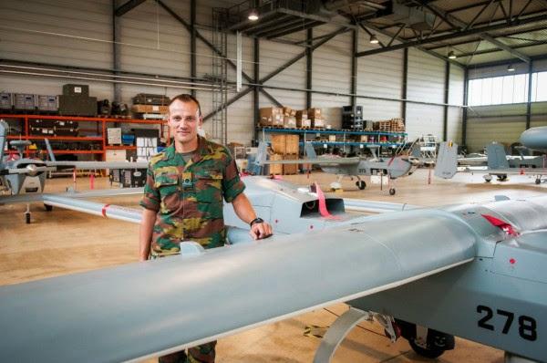 Belgium army ranks Drone-10