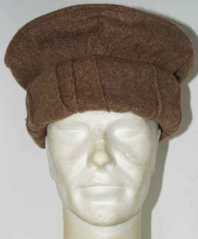 Afghan Pakol - bring as souvenir by Belgian soldier  Dsc00911