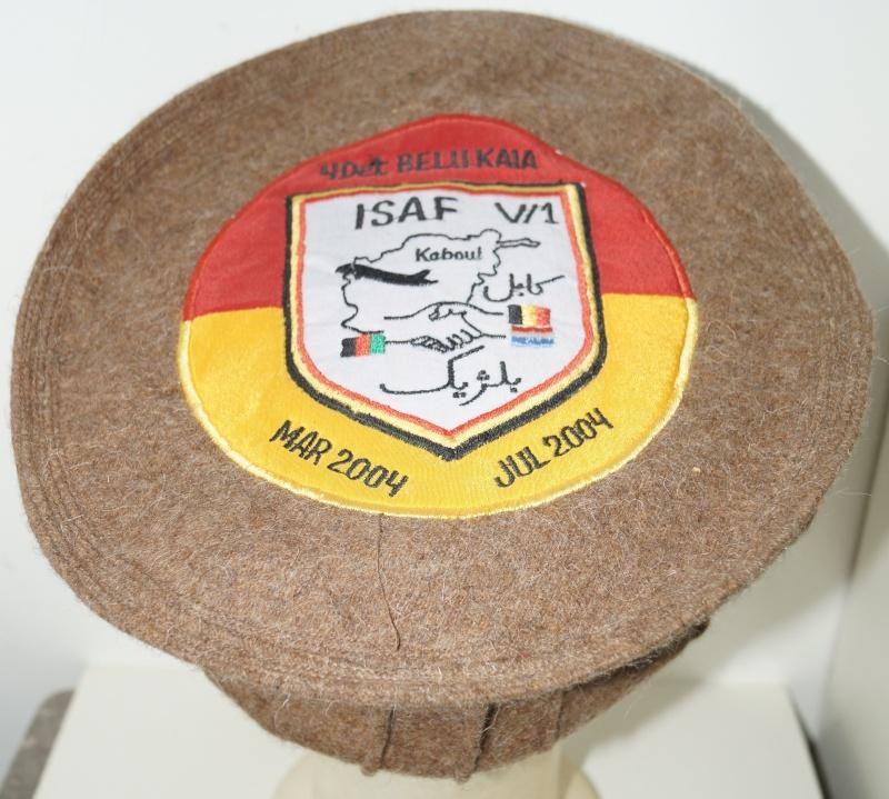 Afghan Pakol - bring as souvenir by Belgian soldier  Dsc00912