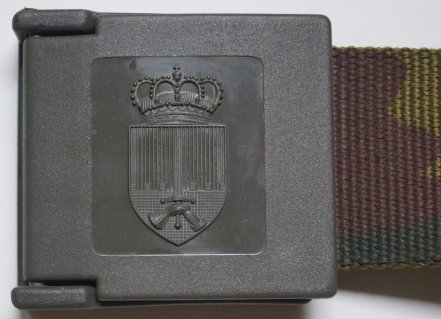 Belgian Army belt Dsc01111
