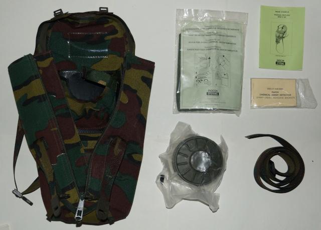 Belgian army Gas Mask Dsc01818