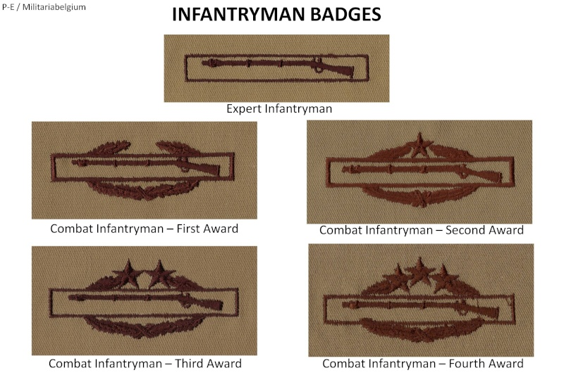 Qualification Badges of US Army Uniforms Infant10
