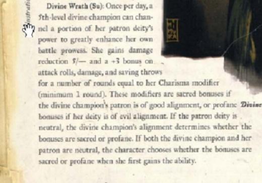 Divine Might, Divine Shield, and Divine Wrath Divine11