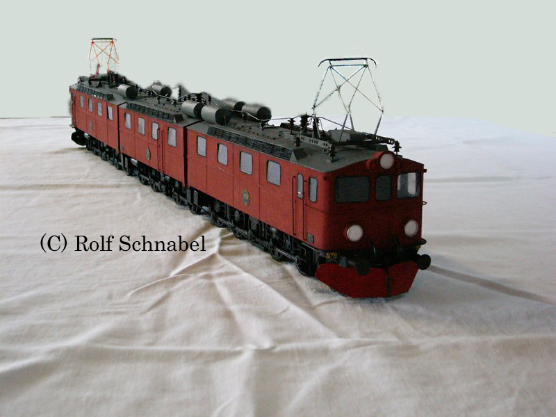 "schwedische Erzbahnlok "" DM 3 "" (Fahrmodell) - Spur 0 02-1_k11"