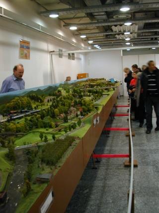 Modellbahnausstellung Strohsackpassage Leipzig 2014 Dscn0031